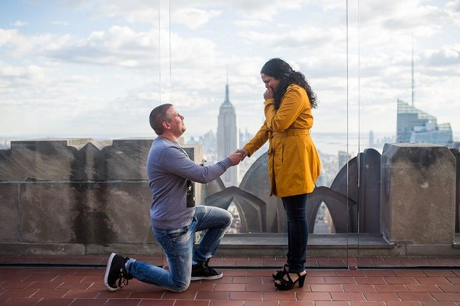 A holiday proposal - Dream Occasions