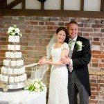 Allison-Neil-Cutting of cake