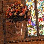 Gary-Tess-WeddingPlinth-in-church