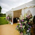 Guy-Caroline-WeddingMarquee-enrtance