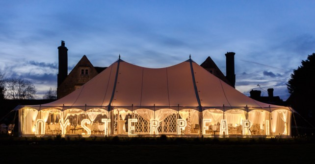 Types of marquee structures for your home celebration