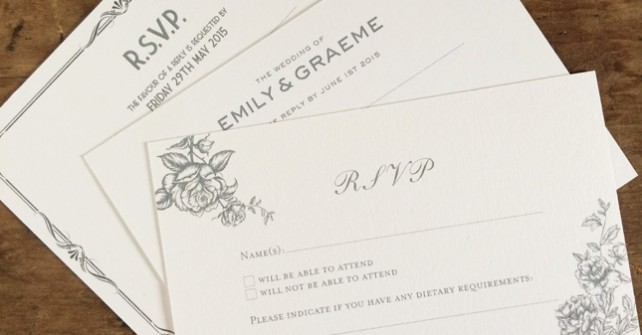 RSVP cards – how do I manage them?