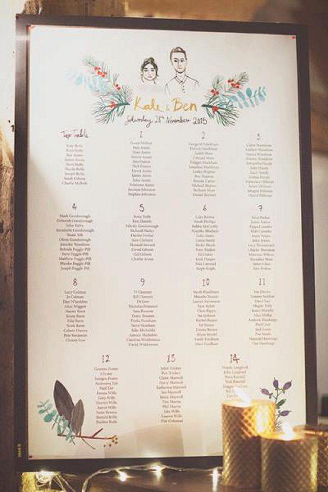 Wedding Table Plan Ideas009