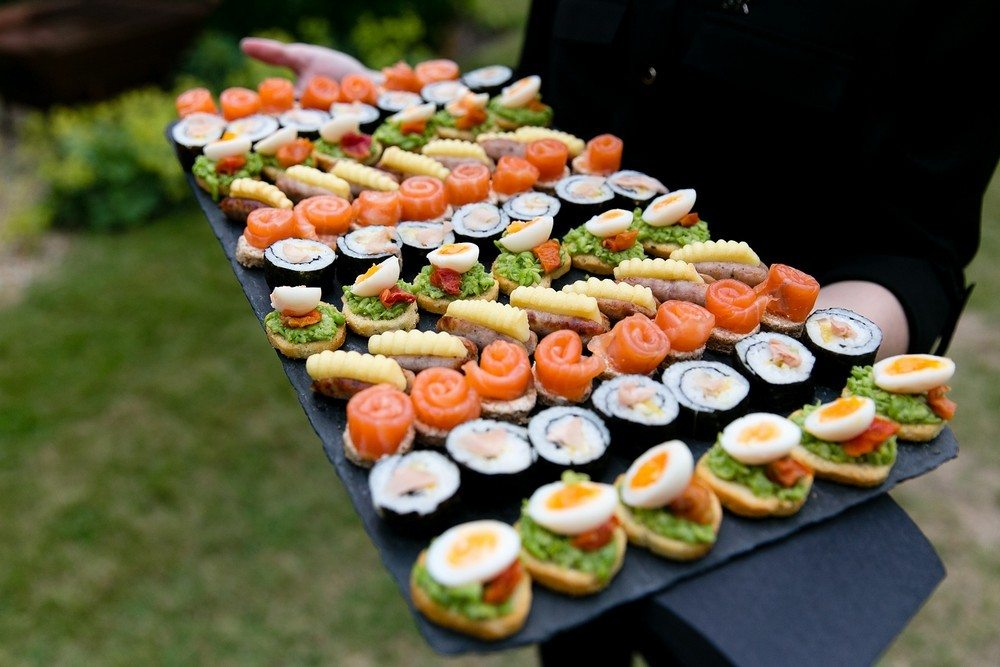 Party Planner essex, canapés served