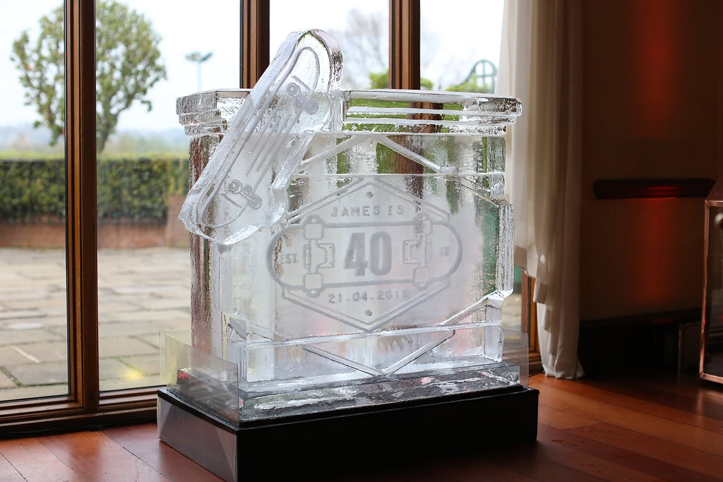 Custom Ice Bar
