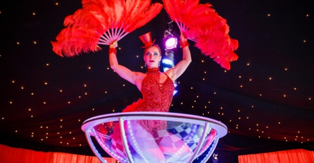A Moulin Rouge themed 50th Birthday