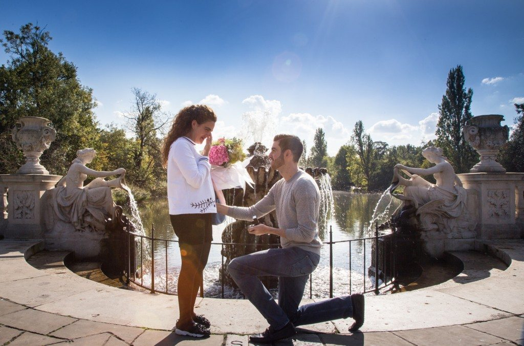 Treasure hunt proposal across London - Dream Occasions