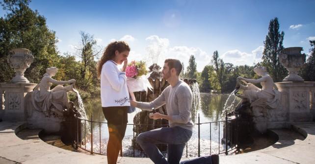 Hussein's romantic treasure hunt proposal across London