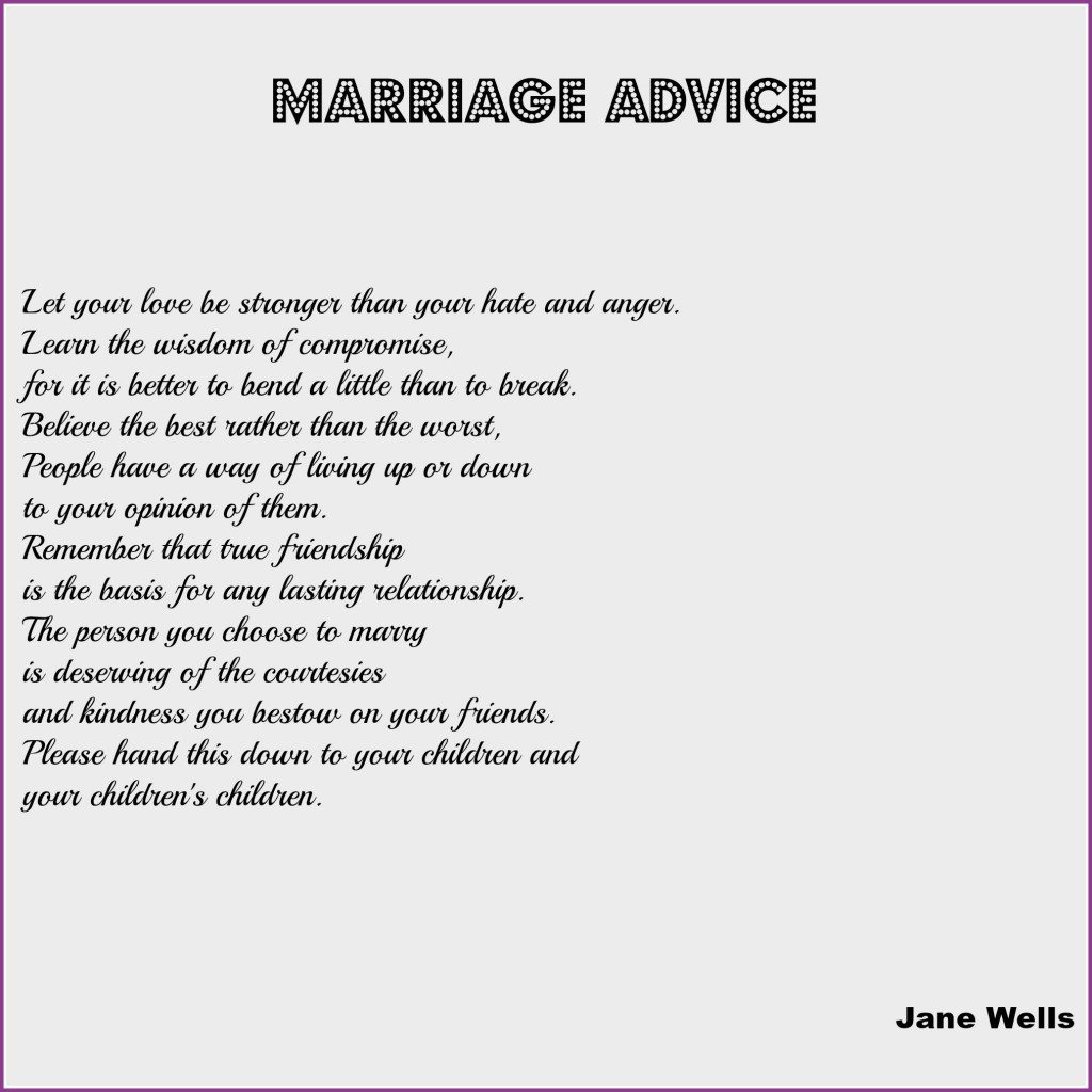 Wedding Readings | Wedding Reading Marriage Advice Dream Occasions