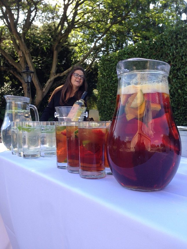 Jugs of Pimms
