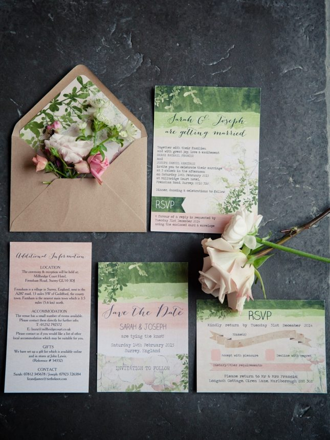 Wedding Invitations - Should you include RSVP's? We say yes!