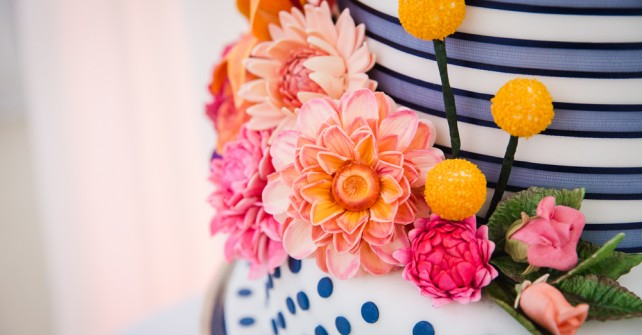 Vibrant, Colourful Marquee Wedding in Essex – The Design