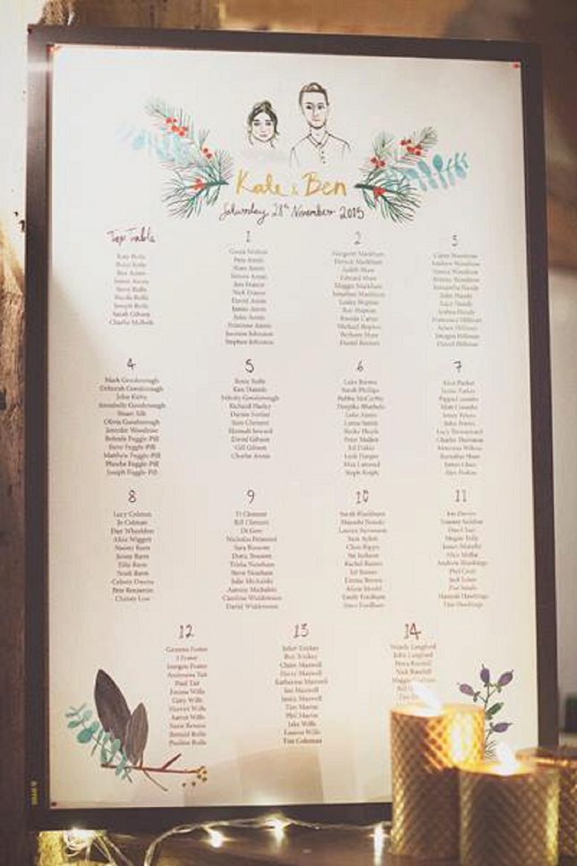 Wedding Table Plan Ideas009
